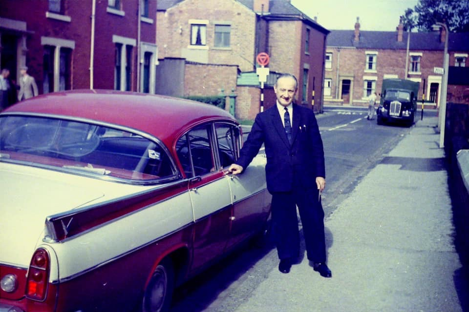 Dr Cohen in Coote Lane, 1965